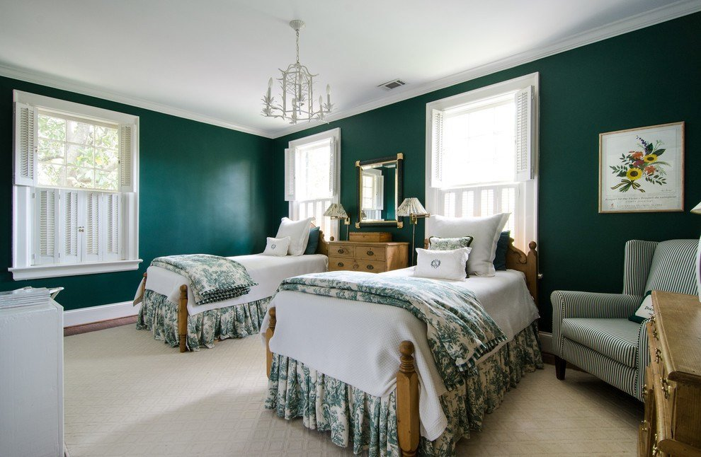 Best Baroque Dust Ruffles Vogue Atlanta Traditional Bedroom With Pictures