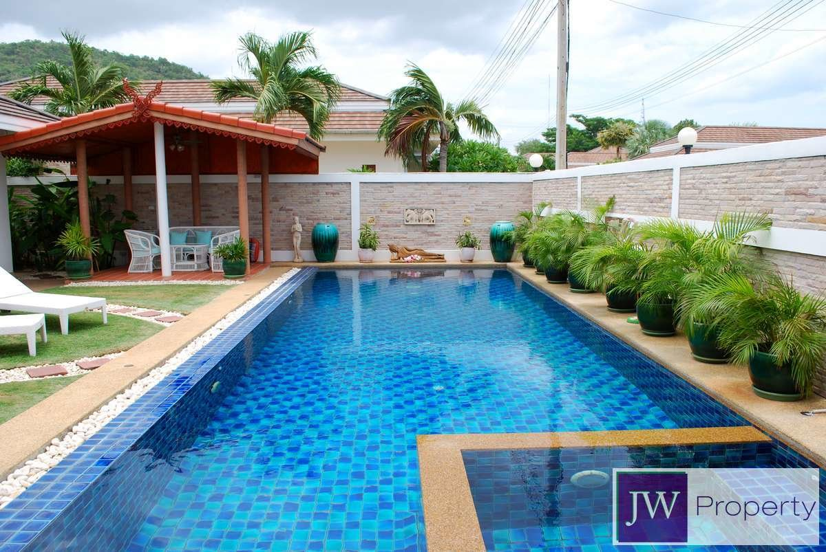 Best Large 3 Bed Pool Villa In Central Hua Hin Complex With Facilities With Pictures