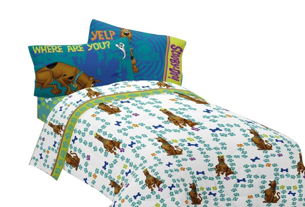 Best Scooby Doo Sheets Kids Bedding With Pictures