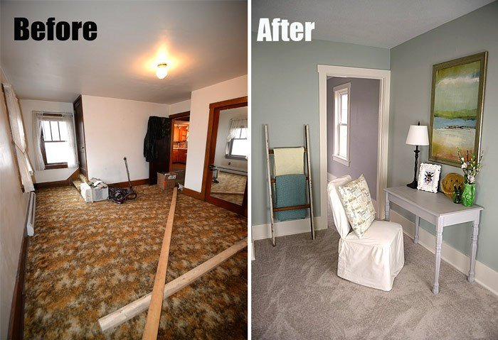 Best Bedroom Before And After At The Flip House Living Rich On Lessliving Rich On Less With Pictures