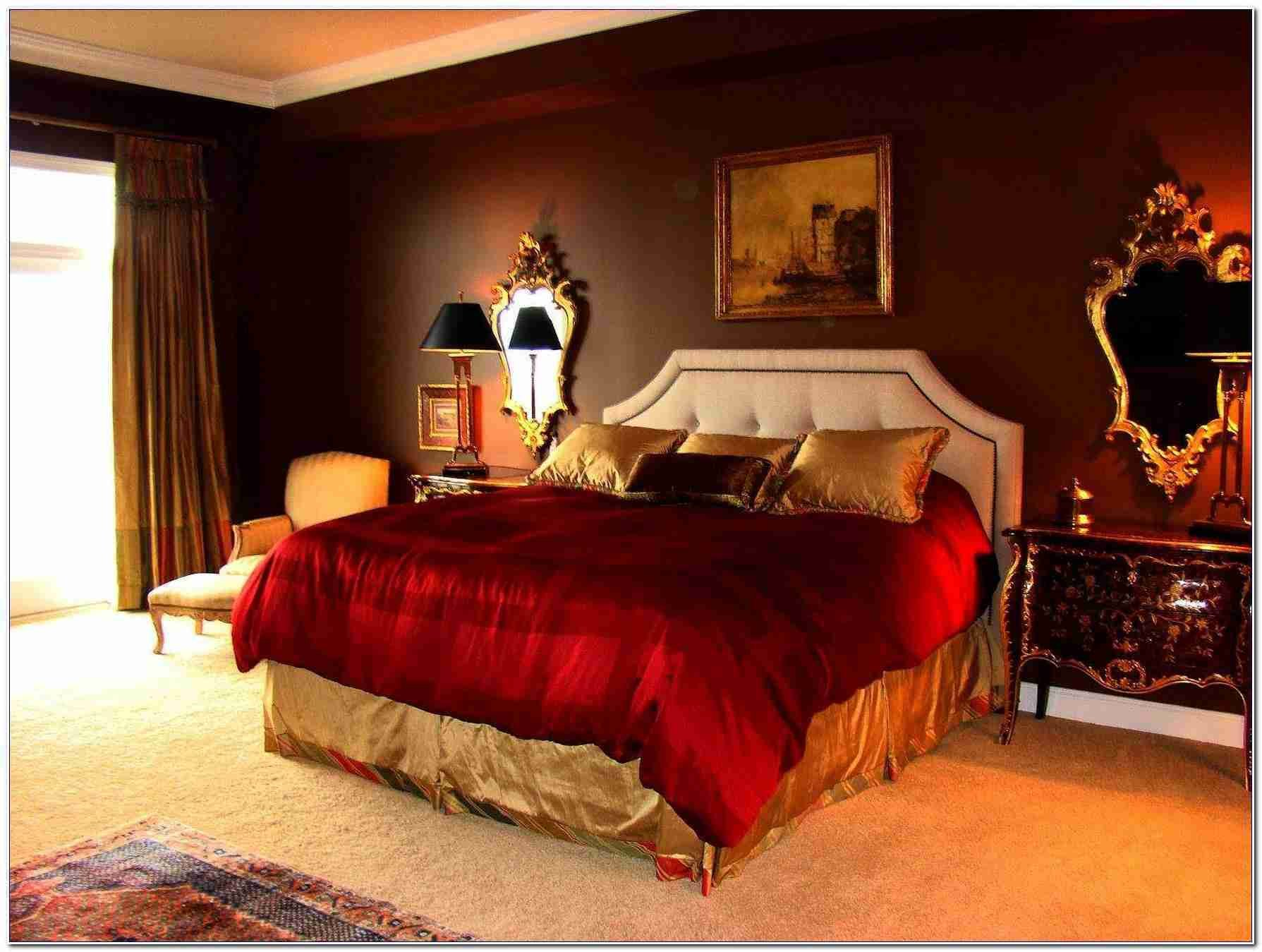 Best Red Gold Bedroom Decorating Ideas – Bedroom Ideas With Pictures