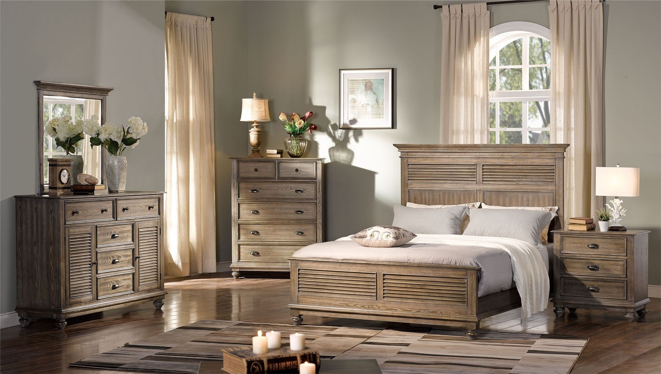 Best Lakeport Pewter Panel Bedroom Set From New Classic With Pictures