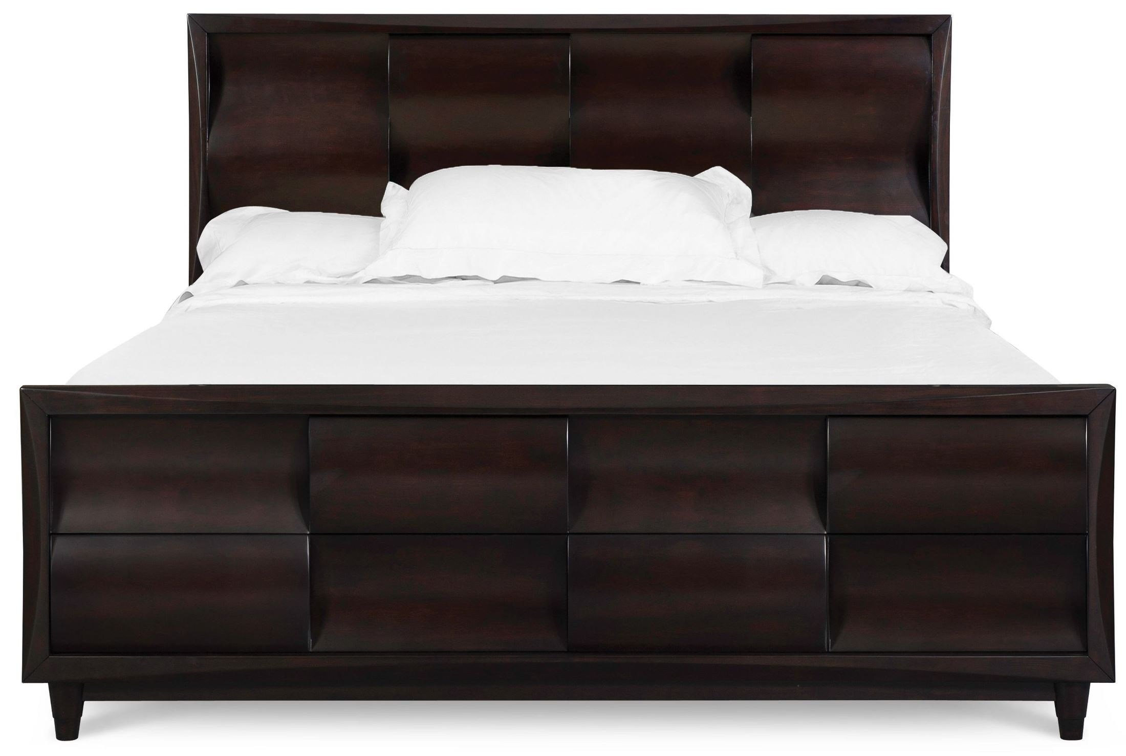 Best Fuqua King Panel Bed From Magnussen Home B1794 64H 64F With Pictures