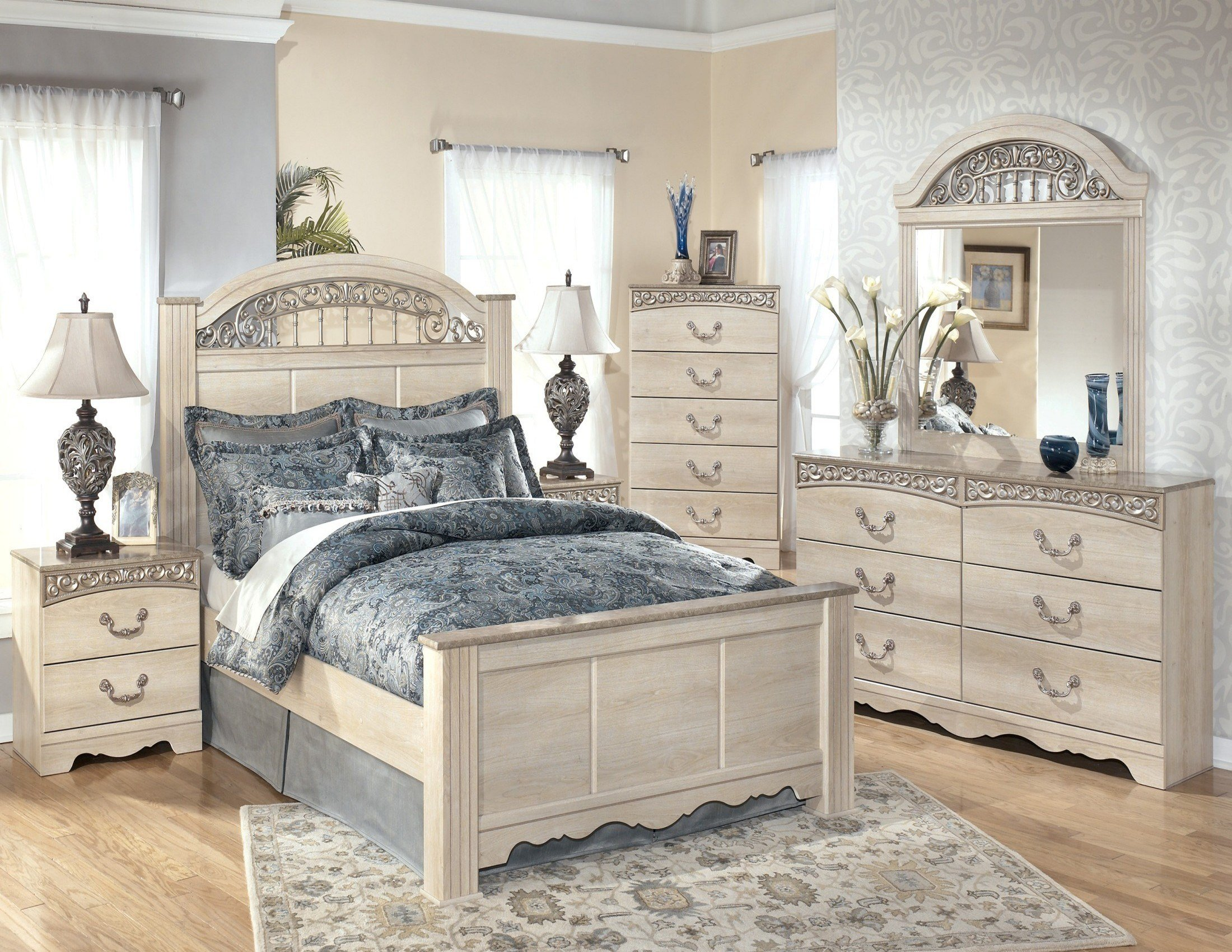 Best Catalina Poster Bedroom Set From Ashley B196 67 64 98 With Pictures