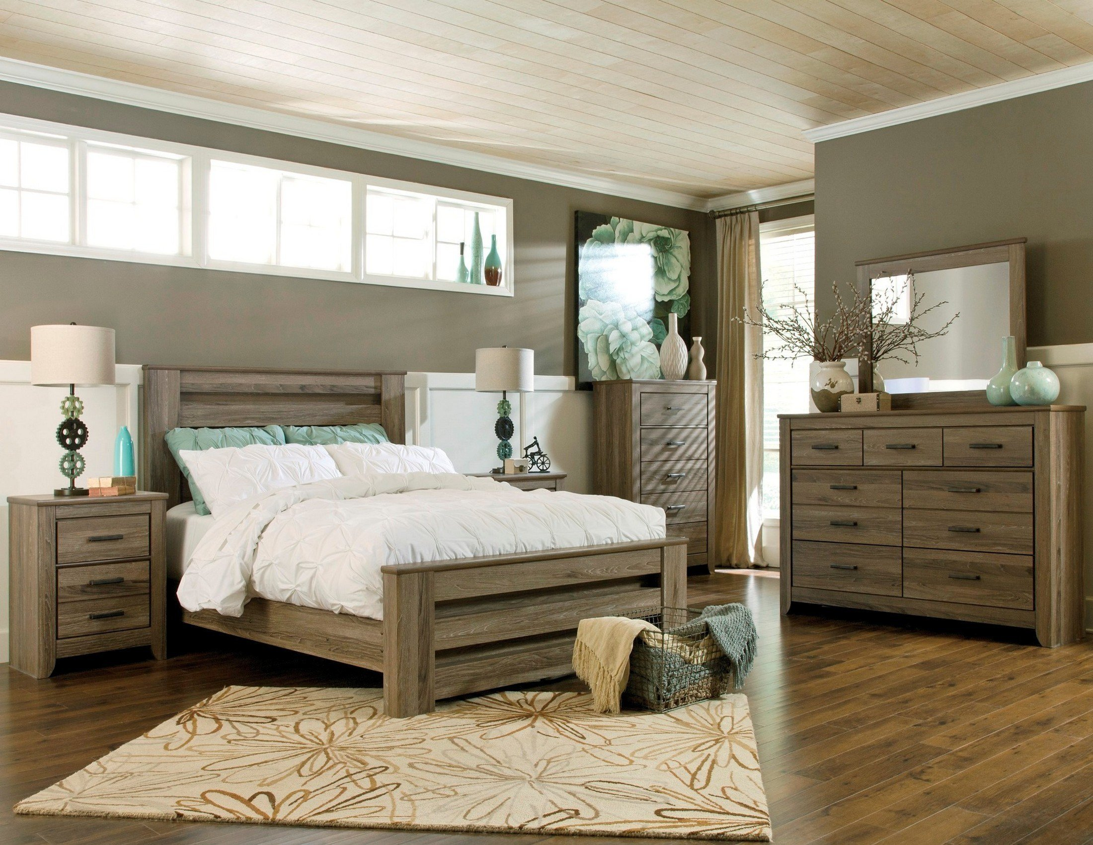 Best Zelen Poster Bedroom Set From Ashley B248 67 64 98 With Pictures