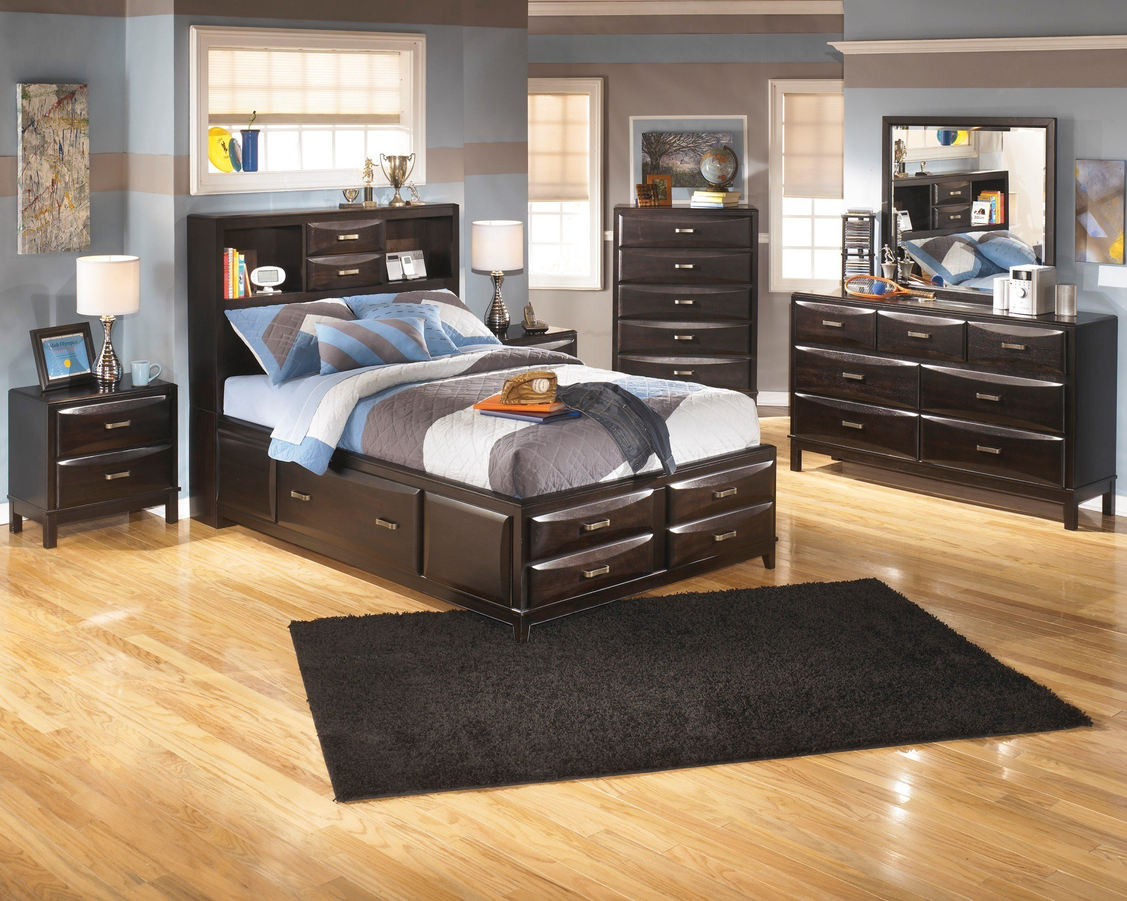 Best Kira Youth Storage Bedroom Set From Ashley B473 With Pictures