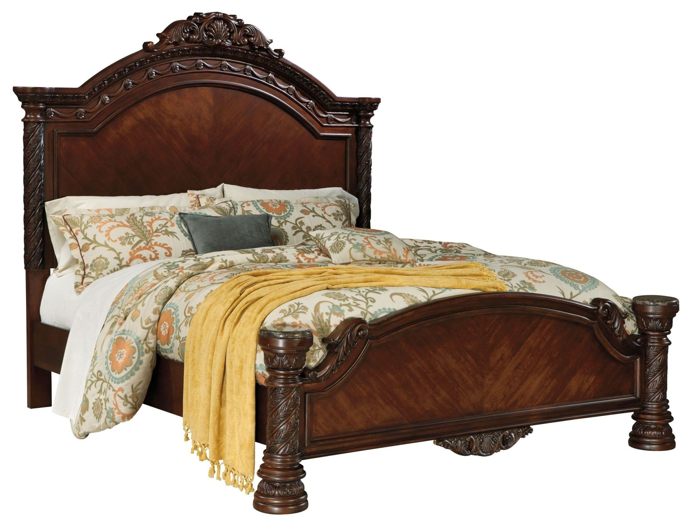 Best North Shore Panel Bedroom Set From Ashley B553 Coleman With Pictures