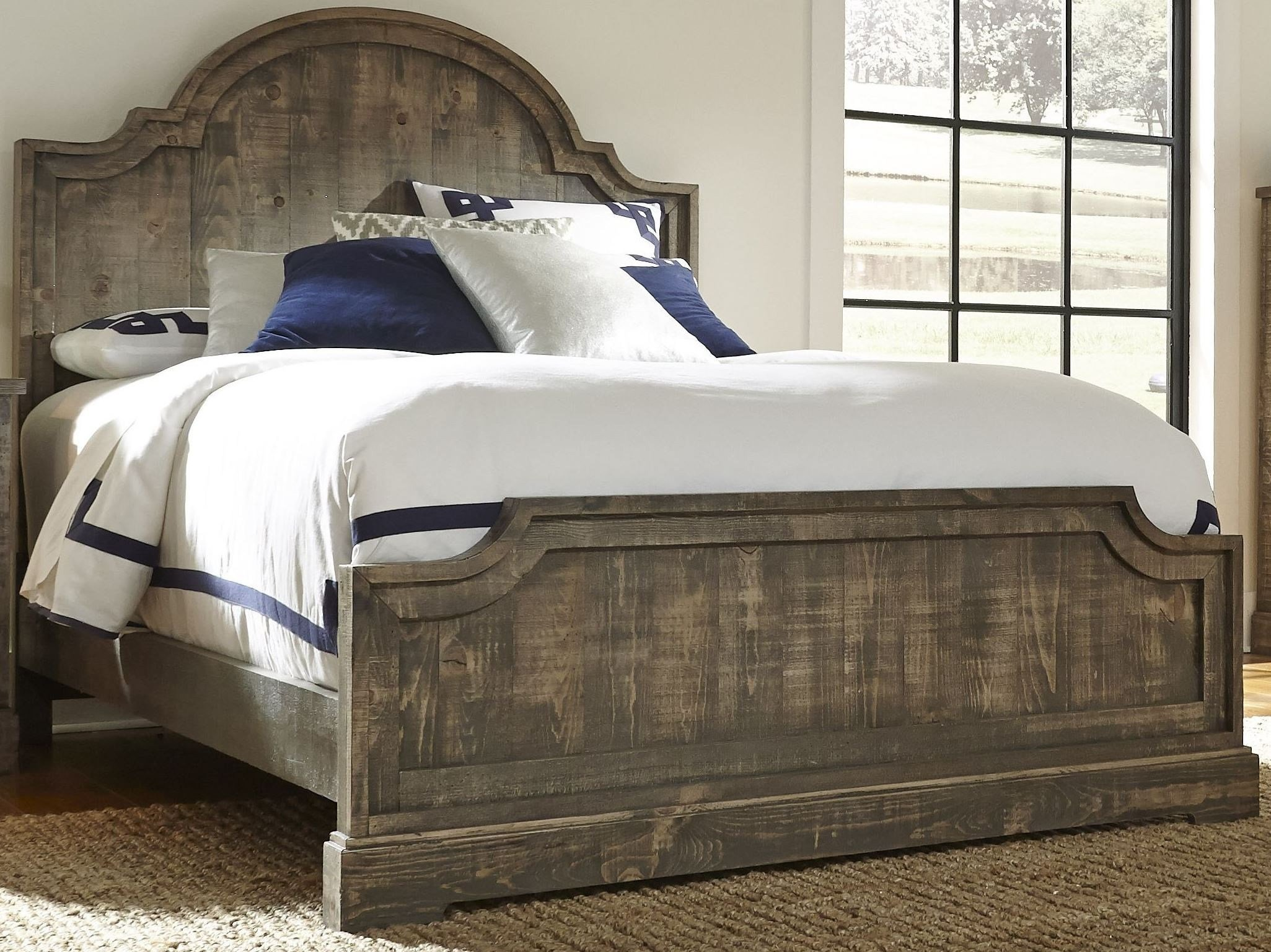 Best Meadow Weathered Gray Panel Bedroom Set From Progressive With Pictures
