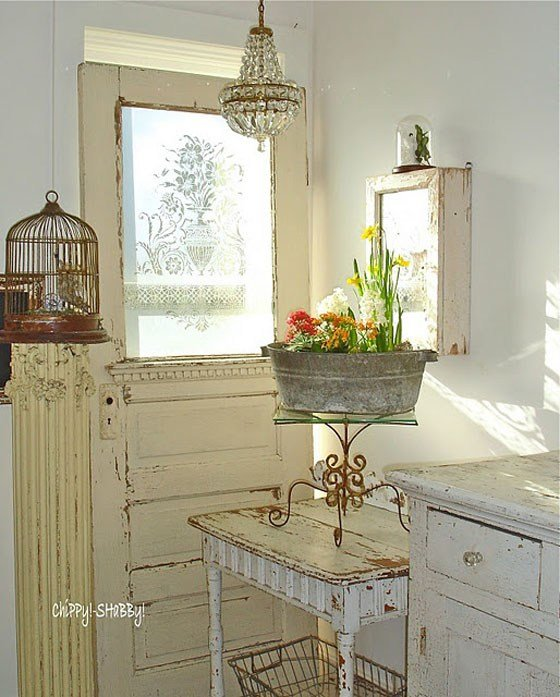Best Inside Shabby Chic And The Rustic Farmhouse… Decor With Pictures