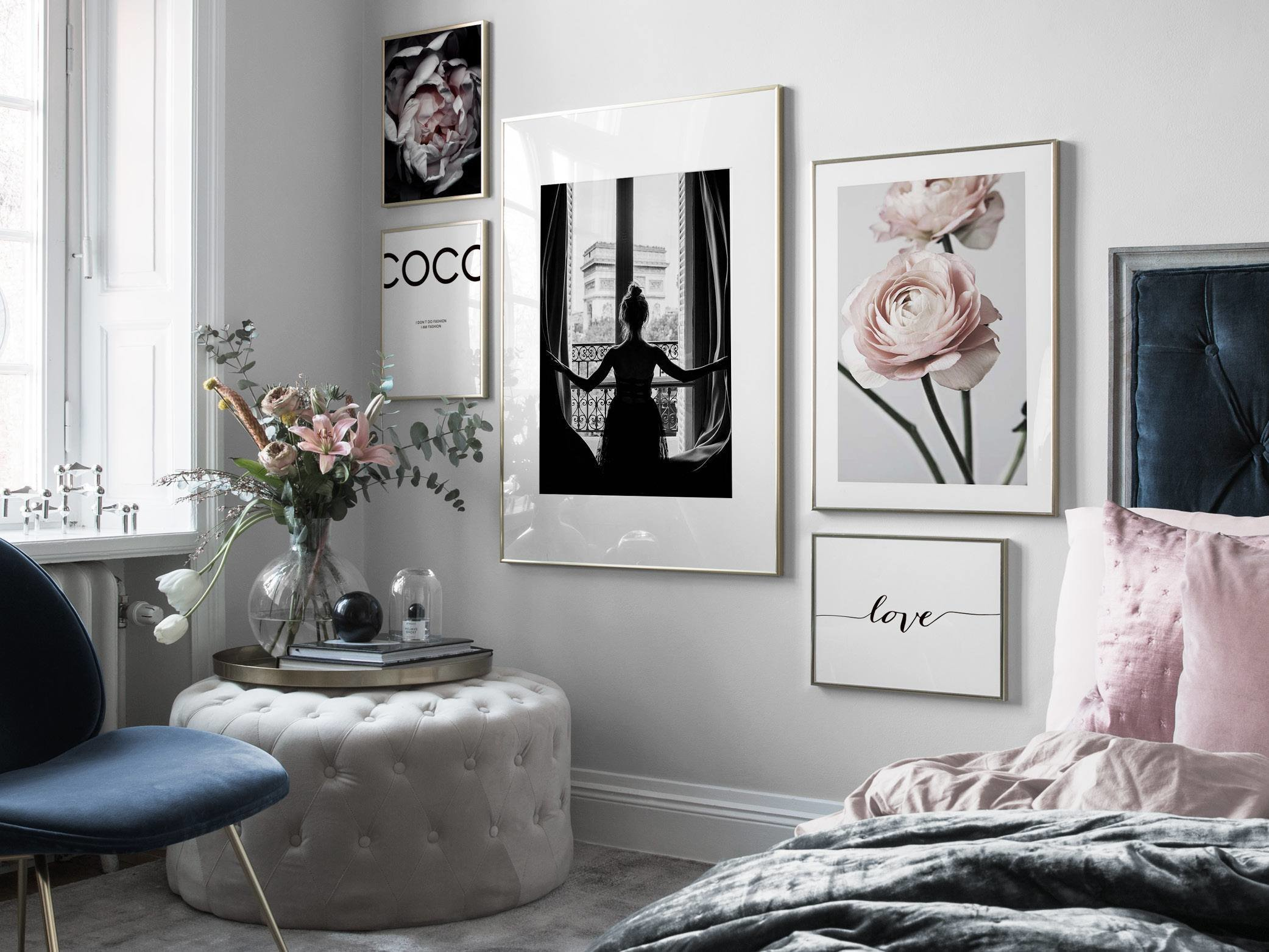 Best Bedroom Inspiration Posters And Art Prints In Picture With Pictures