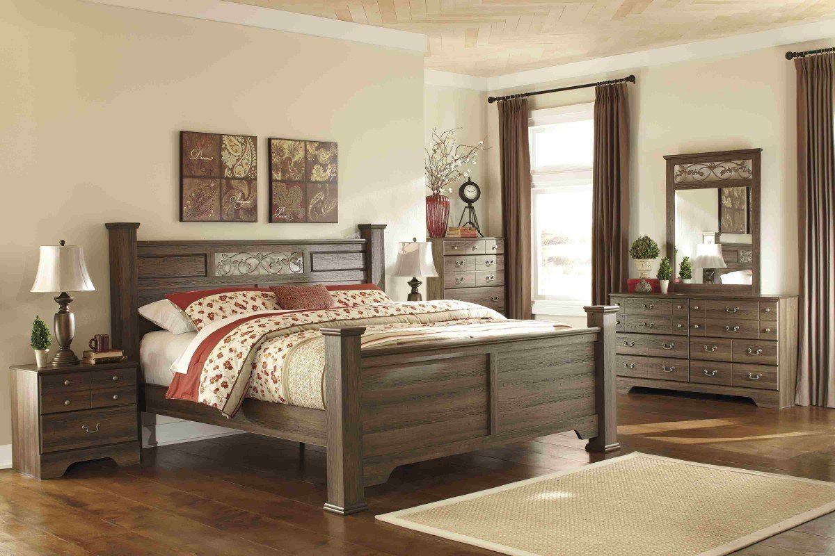 Best Bedroom Sets Allymore King Bedroom Set Newlotsfurniture With Pictures