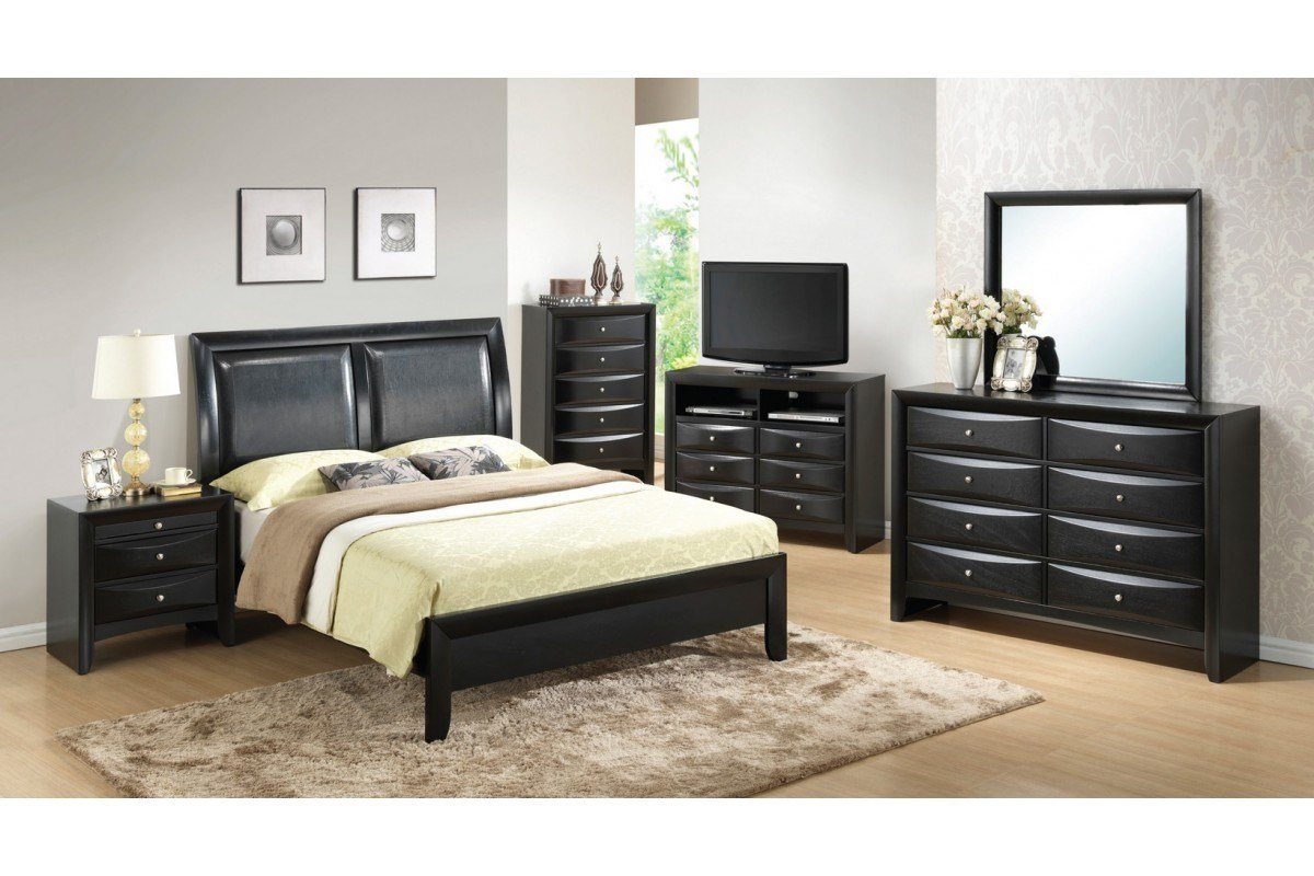 Best Bedroom Sets Lauran Black Full Size Bedroom Set With Pictures