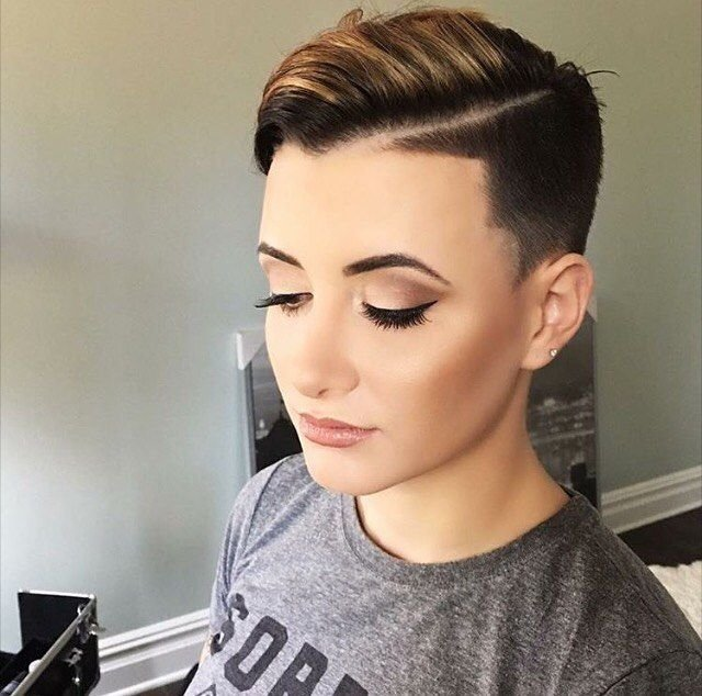 Free 60 Modern Shaved Hairstyles And Edgy Undercuts For Women Wallpaper