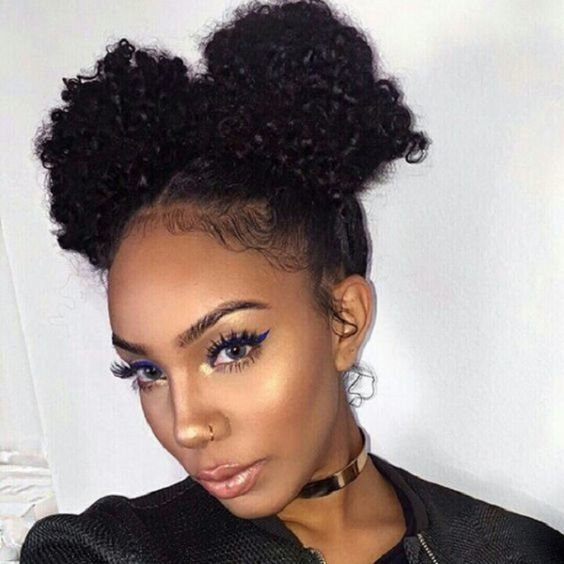 Free African American Natural Hairstyles For Medium Length Hair Wallpaper
