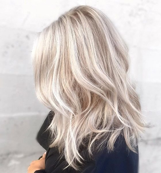 Free Icy Blonde Hair Color Ideas Wallpaper