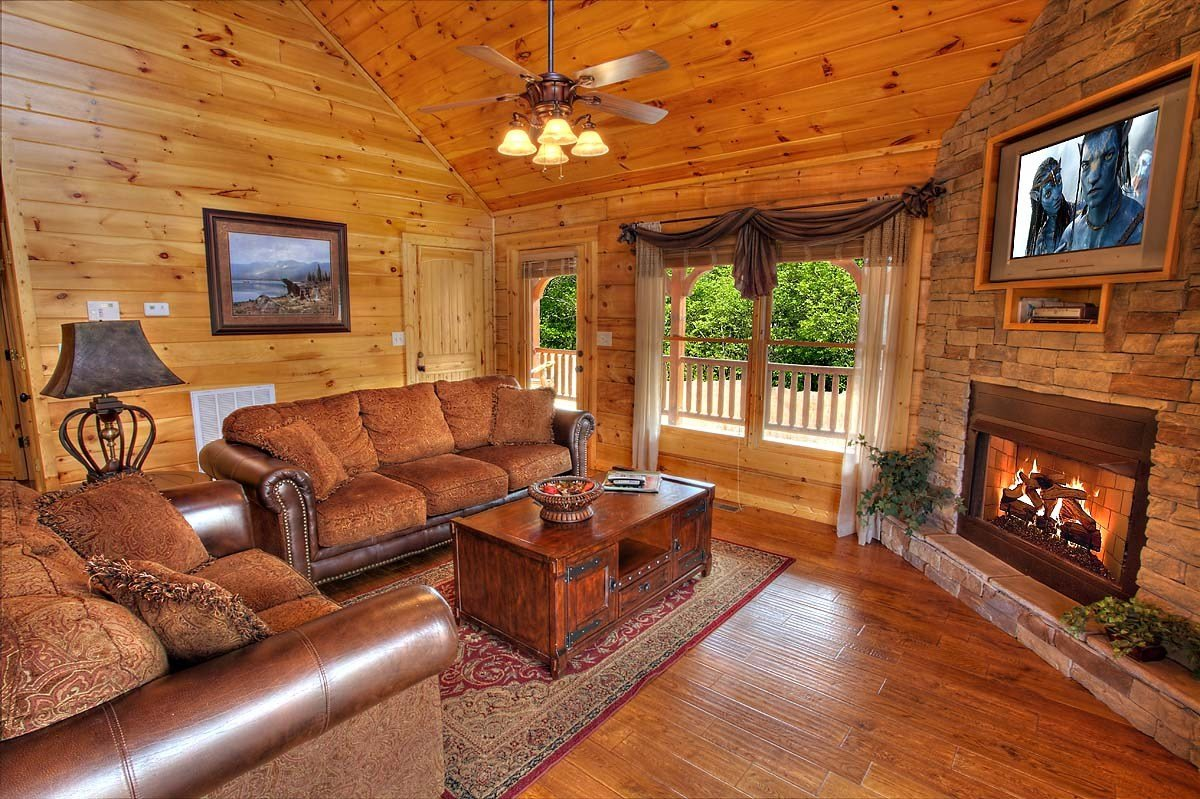 Best Bear Elegance 3 Bedroom Cabin From Hearthside Cabin Rentals With Pictures