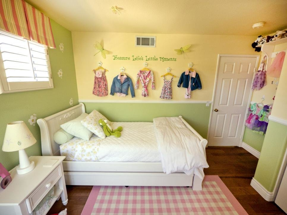 Best A Multifunctional Little Girl S Room In A Small Space Hgtv With Pictures