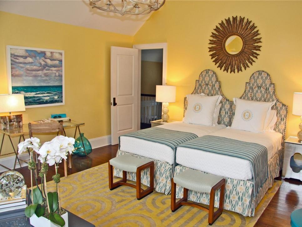 Best 15 Cheery Yellow Bedrooms Hgtv With Pictures
