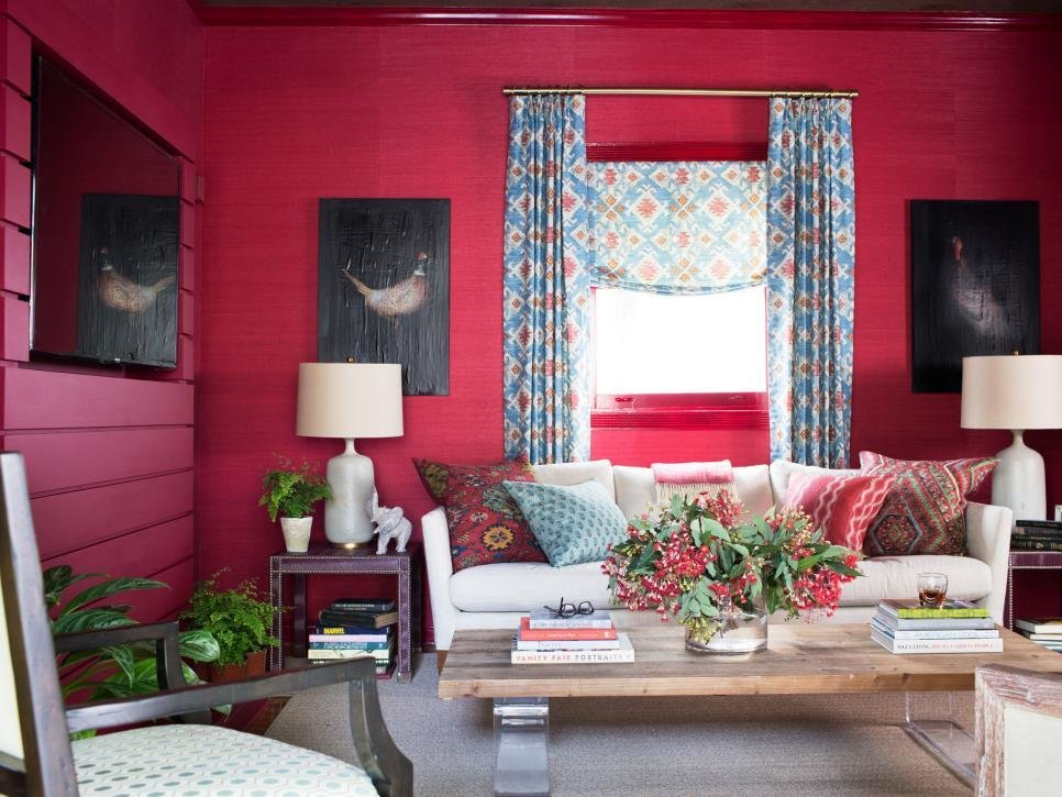 Best Crimson Red Color Palette Crimson Red Color Schemes Hgtv With Pictures