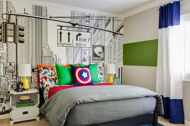 Best This Superhero Themed Kid S Room Will Knock Your Socks Off With Pictures
