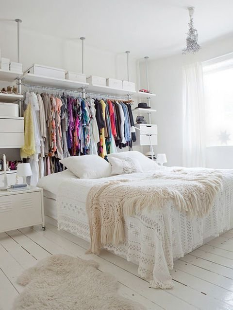 Best 14 Small Bedroom Storage Ideas How To Organize A Bedroom With Pictures