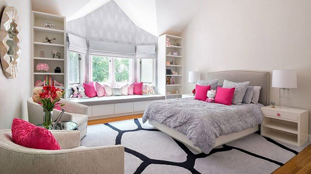 Best 20 Elegant And Tranquil Pink And Gray Bedroom Designs With Pictures