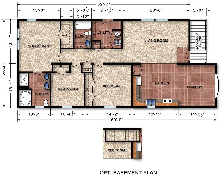 Best 6 Bedroom Modular Home Floor Plans Cottage House Plans With Pictures