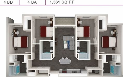 Best Affordable Luxury Student Apartments In College Station With Pictures