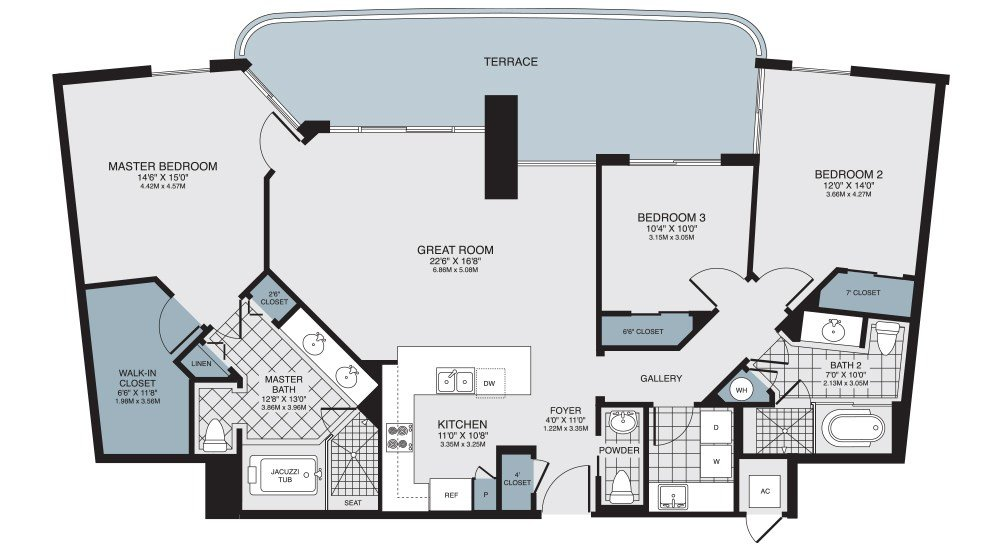 Best Turnberry Towers Floor Plans Turnberry Towers Condos For With Pictures