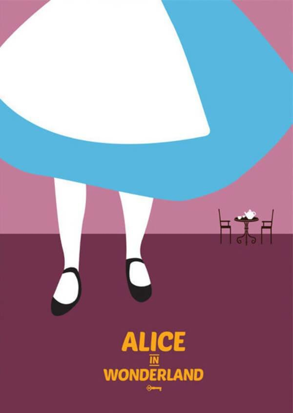 Best 28 Awesome Minimalist Posters Of Disney Movies We All Loved With Pictures