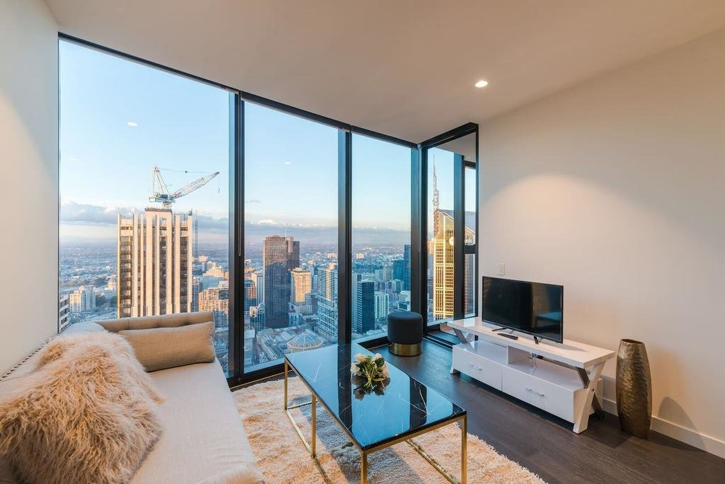 Best Eq Tower Luxury 2 Bedroom Skyline Cbd Apartment Melbourne With Pictures