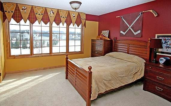 Best Cool Hockey Themed Bedroom Decorating Ideas With Pictures