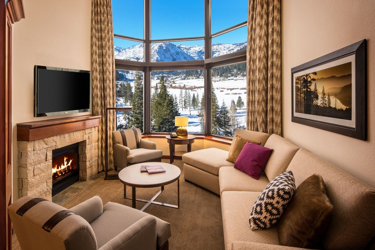 Best Tahoe Luxury Lodging Resort At Squaw Creek Penthouses With Pictures