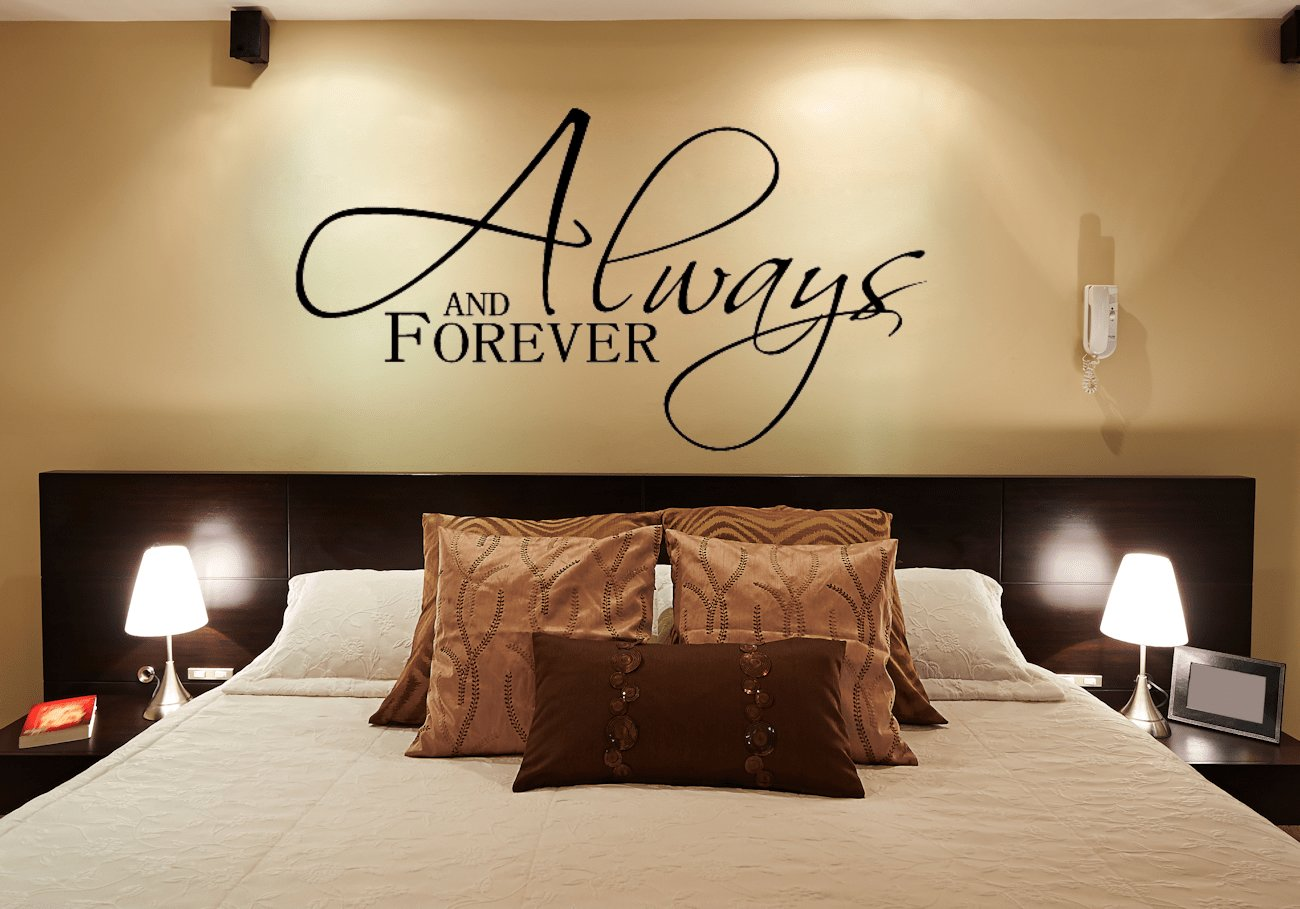 Best Always And Forever Wall Decals For Master Bedroom With Pictures