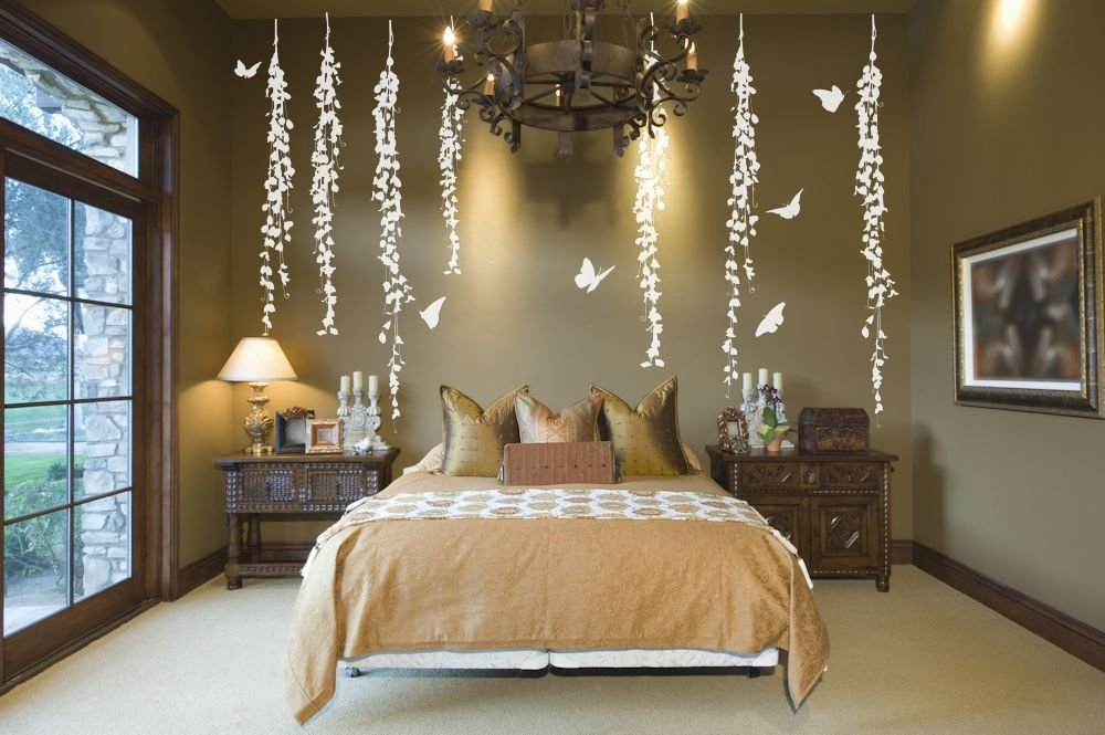 Best Hanging Vines Decorative Wall Decals Removable With Pictures