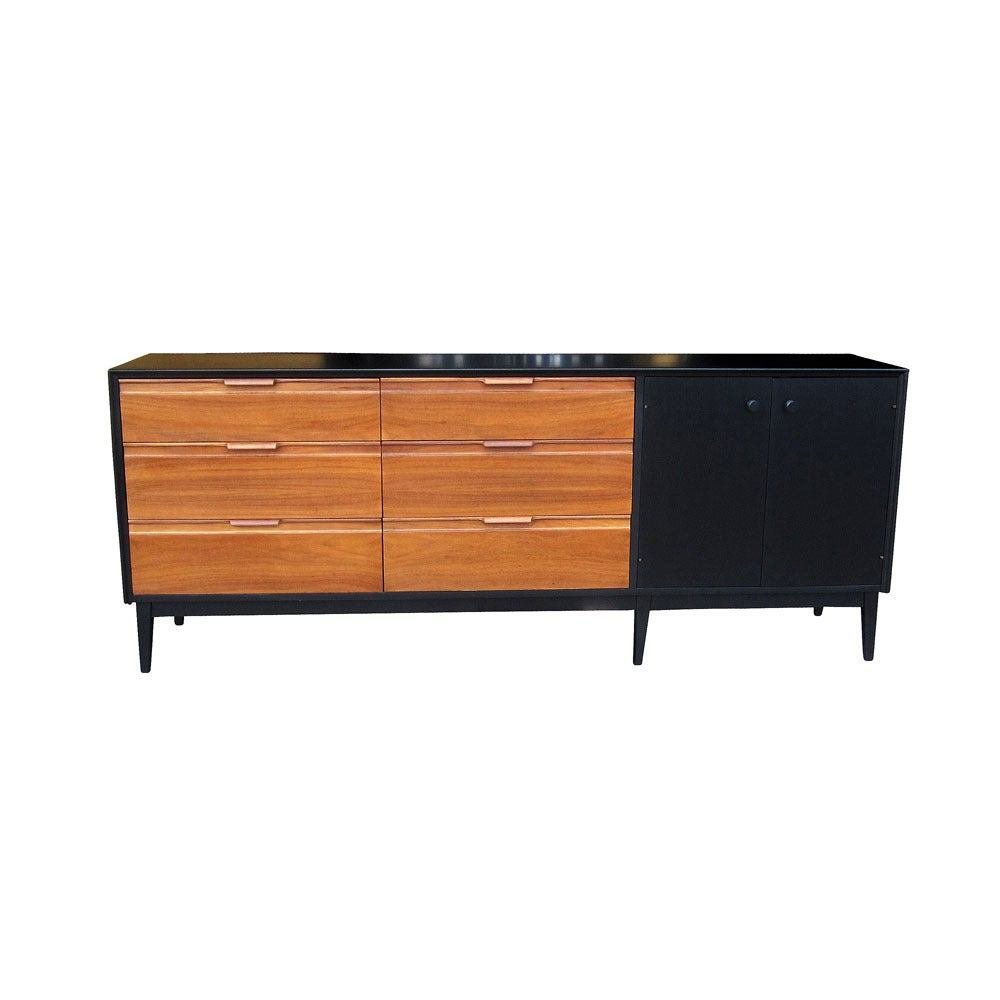 Best Vintage American Of Martinsville Credenza At 1Stdibs With Pictures