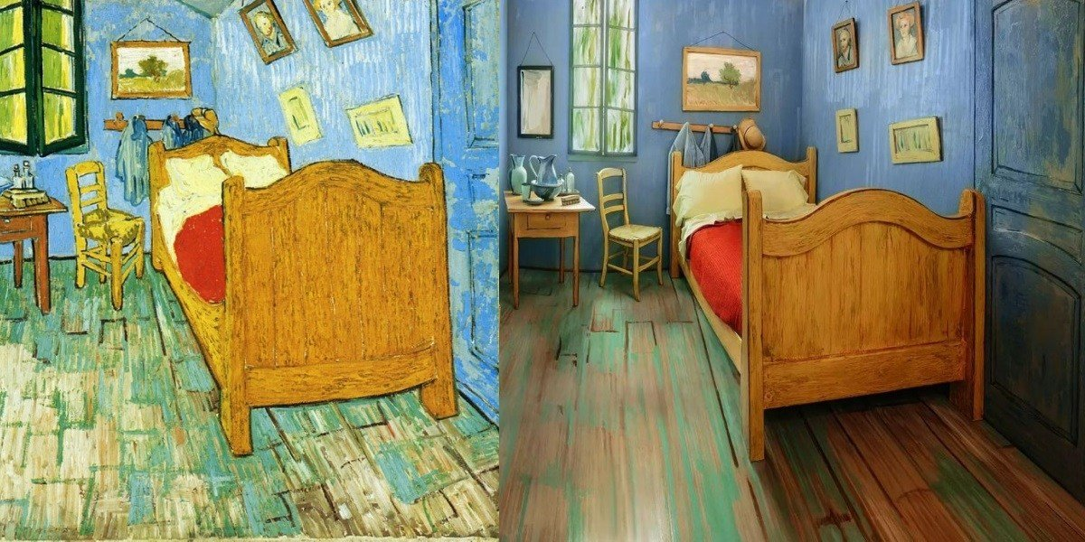 Best The Art Institute Of Chicago Created A Replica Of Van Gogh With Pictures