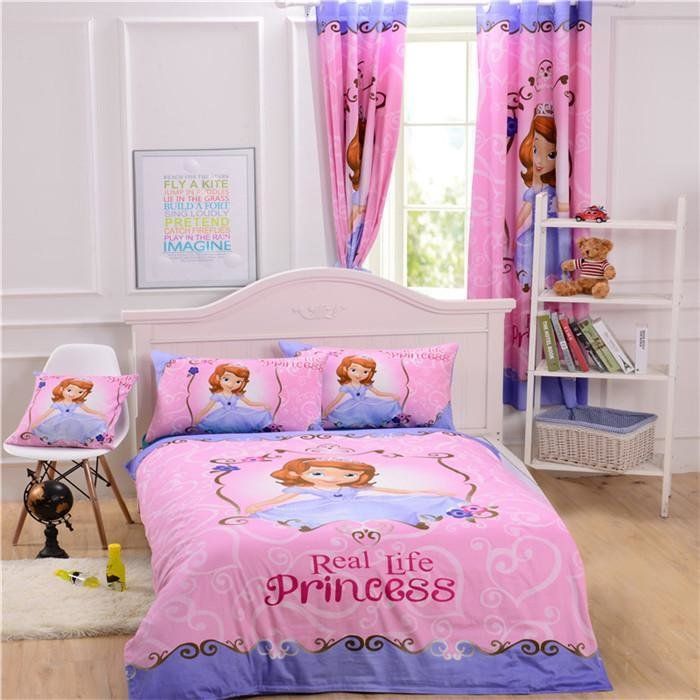 Best Sofia The First Bedding Princess Bedding Cotton Bedroom With Pictures