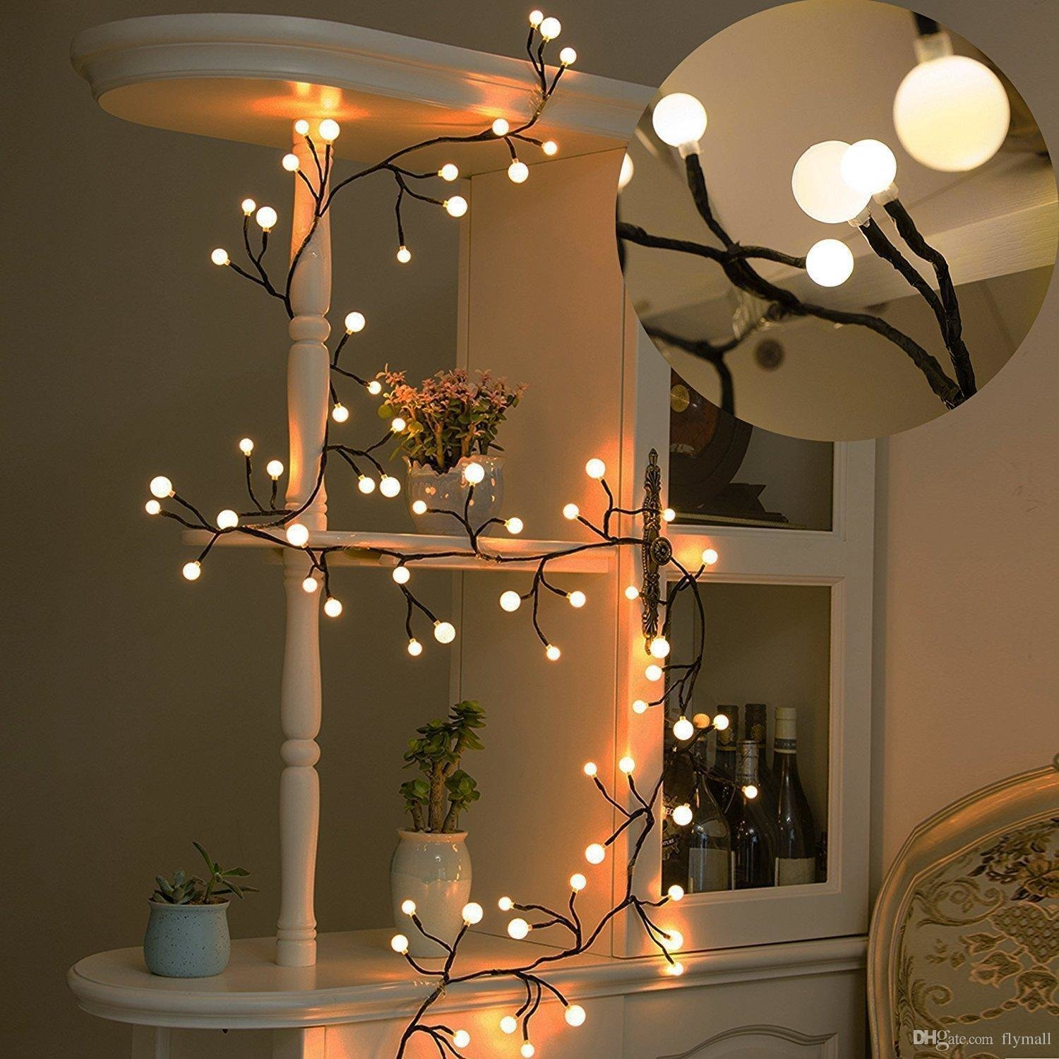 Best 8 2Ft 72 Bulbs Led Globe String Lights Waterproof Fairy With Pictures