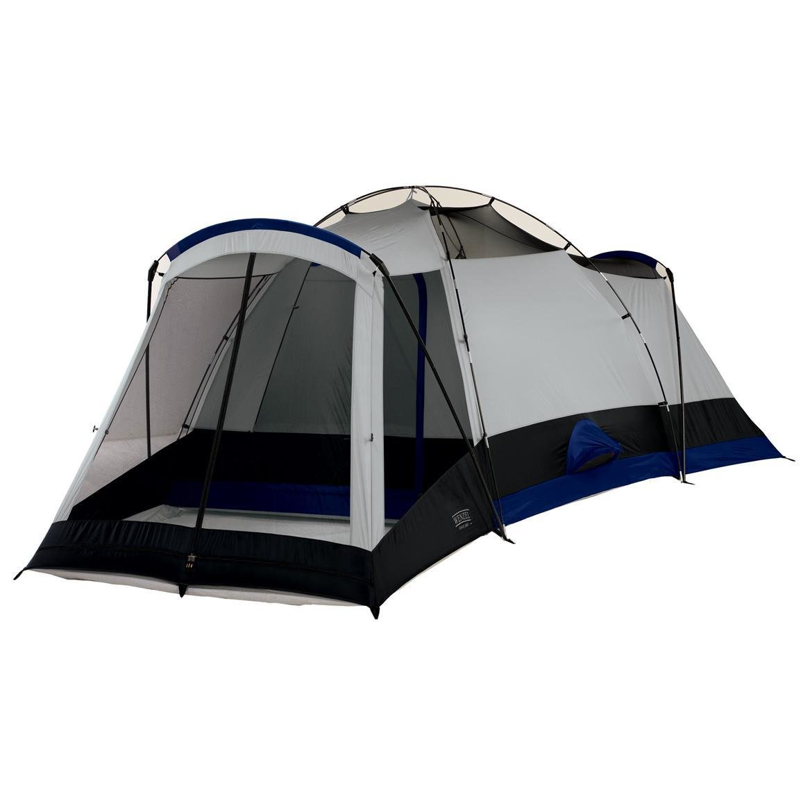 Best Wenzel® Titan 3 Room Family Dome Tent W Screen Porch With Pictures