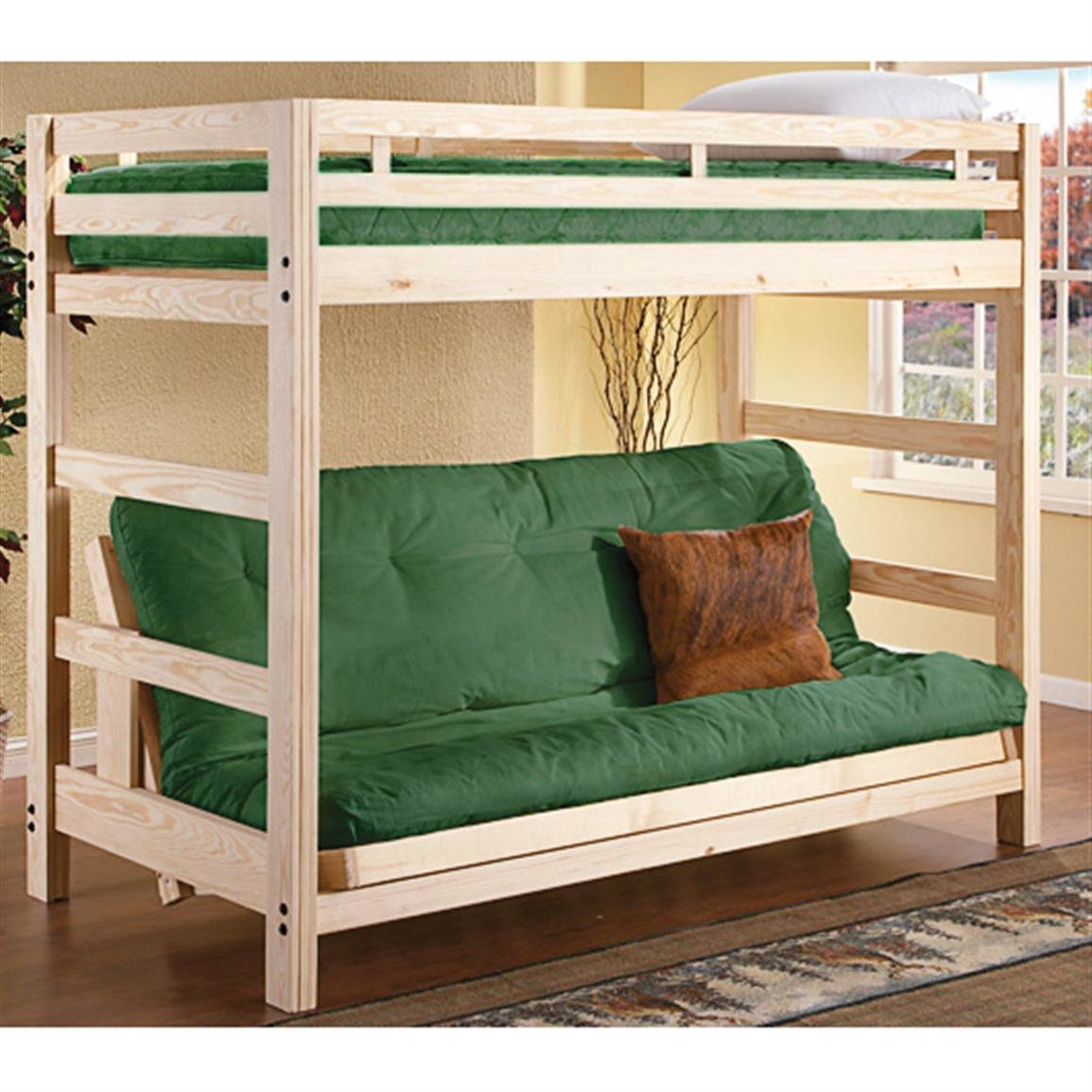 Best 8 Twin Futon Mattress Green 89201 Bedroom Furniture With Pictures
