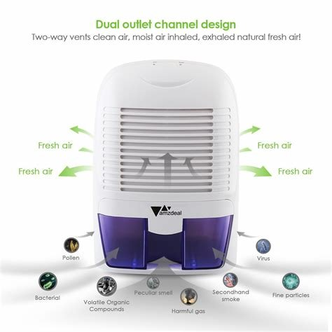 Best Amzdeal Dehumidifier For 323 Sq Ft Home Basement Bedroom With Pictures