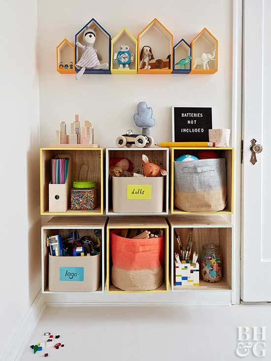Best Diy Kids Rooms Storage Projects With Pictures