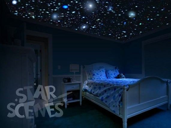 Best Items Similar To Secret Star Panel To Expand Your Glow In The Dark Secret Star Ceiling Makes With Pictures