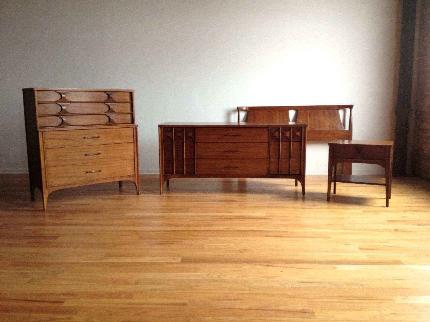 Best Mid Century Modern Kent Coffey Perspecta Bedroom Set With Pictures