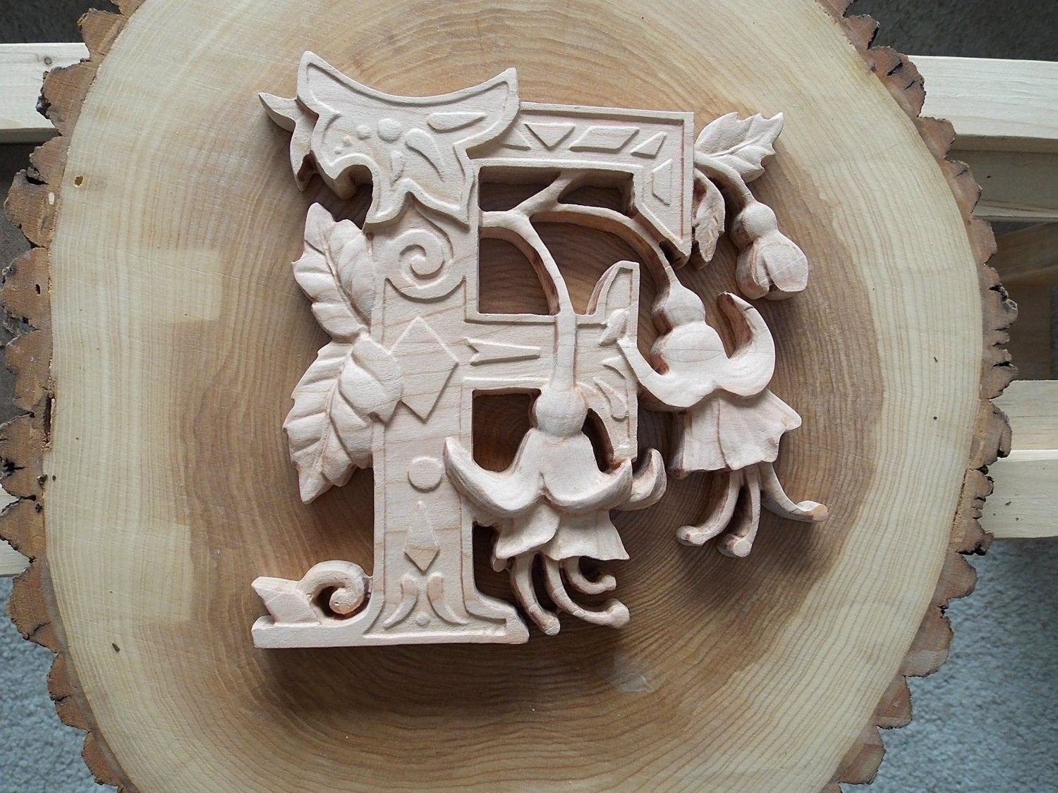 Best Wooden Letters Wall Letters Flower Alphabet Wall Decor With Pictures
