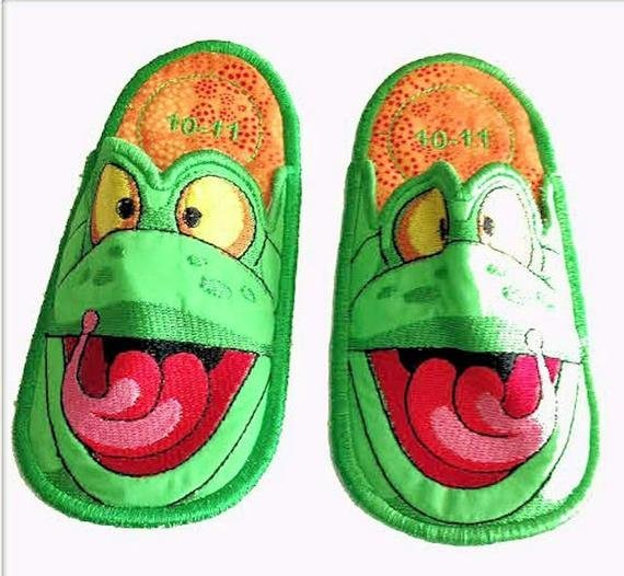 Best Frog Bedroom Slippers Kids Slippers Bedroom Slippers With Pictures
