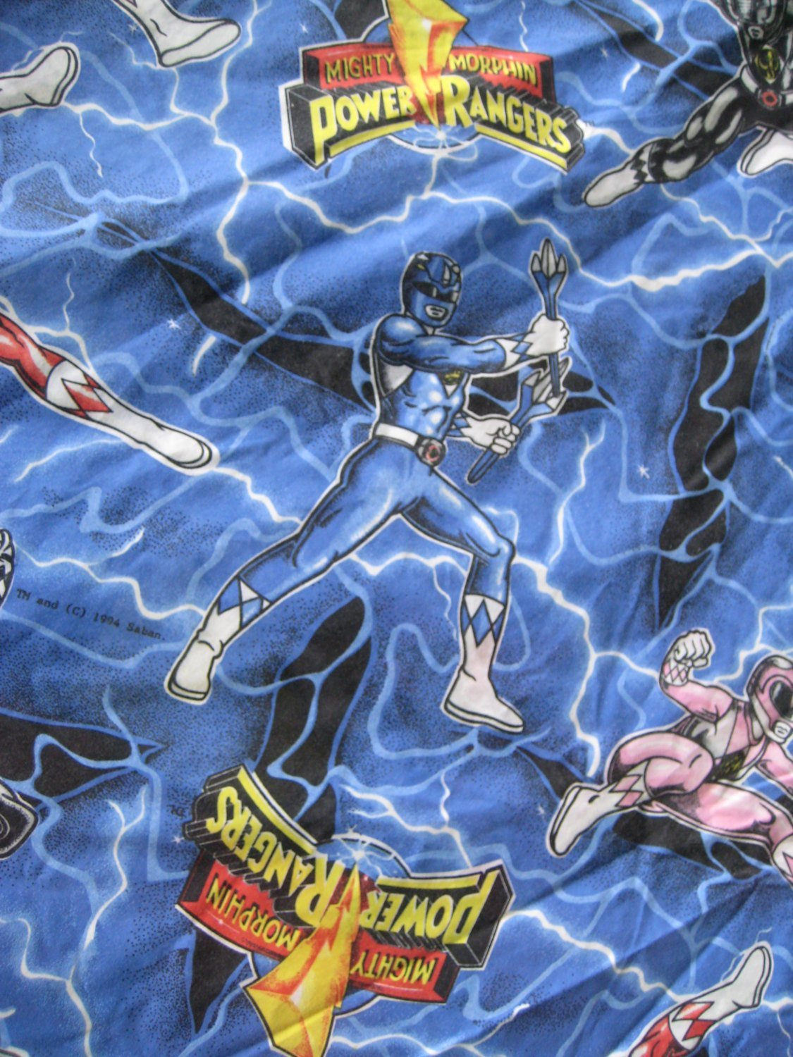 Best Vintage Mighty Morphin Power Rangers Bedding Cover For Duvet With Pictures