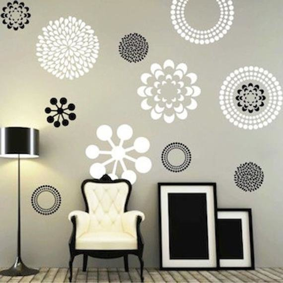 Best Modern Flower Wall Decals Bedroom Wall Decal By With Pictures