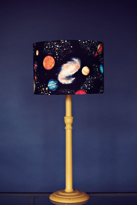 Best Planet Lampshade Stars Lamp Shade Space Birthday Gift Kids With Pictures